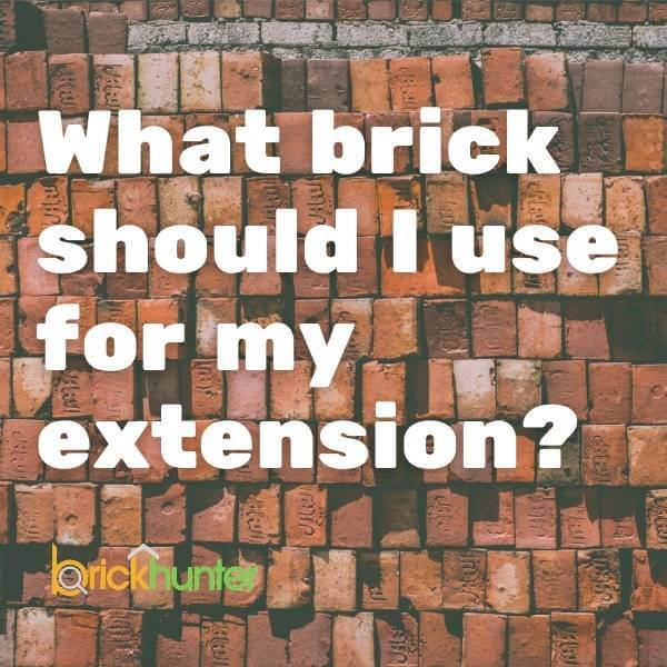 What Brick Should I Use For My Extension?