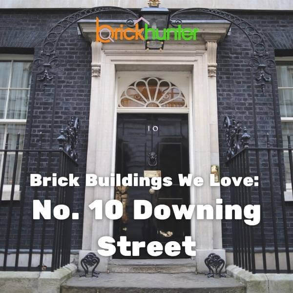 Brick Buildings We Love: 10 Downing Street